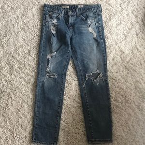 AG Beau slouchy skinny jeans, size 27